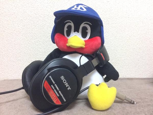 つばくろう と MDR-CD900ST